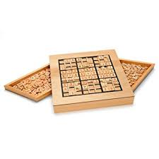 Wooden Sudoku Game Board Amazon Deluxe Wooden Sudoku Puzzle with Wooden Number and 23