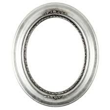 silver antique picture frames. Antique Silver Oval Frame Picture Frames