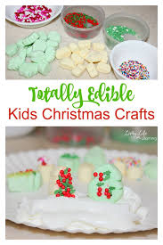 Kids Crafts Edible Christmas Ornaments  Red Ted Artu0027s BlogEdible Christmas Craft Ideas
