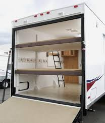 electric rear double bunk opt