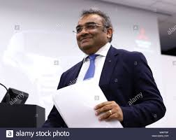 Tokyo, Japan. 24th July, 2019. Japan's automaker Mitsubishi Motors (MMC)  chief operating officer (COO) Ashwani Gupta leavdes a press conference  after he announced the company's first quarter financial result at the MMC