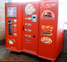 Different Vending Machines Magnificent Pizza Vending Machine Kerin Hartley Marketing