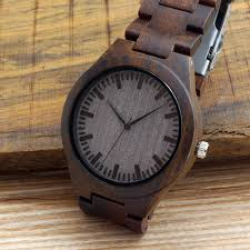2017 bobo bird men s watches all black wood wrisch with wood strap japan movement 2035 quartz wood watches as gifts for men