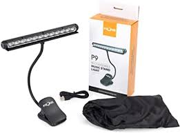Led music stand light electric, bass and acoustic guitar accessories a brilliantly designed music stand light.led music stand light electric, bass we offer free and fast postage in the uk from manchester for all orders over £50 ! Fzone P9 12 Led Clip On Music Stand Light Amazon Co Uk Musical Instruments