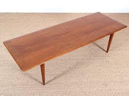mid century modern scandinavian coffee table in teak model fd 516 by hvidt mølgaard