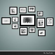 Whether you're creating a gallery wall, or you just want to hang a  selection of family portraits, it can be difficult to know exactly how to  space them.
