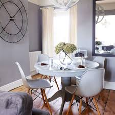 Gray And White Dining Room Modern Grey Dining Room With Circular Custom Grey Dining Room