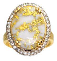 what is gold quartz and how is it formed