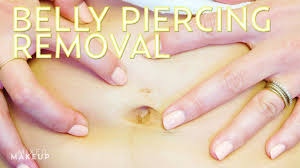 How To Close Up A Belly Button Piercing With Dr Gabbay The Sass W
