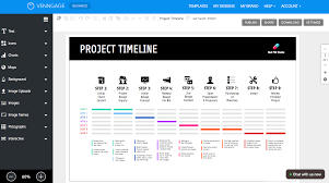 Roadmap Project Online Roadmap Maker Create A Roadmap Template Venngage