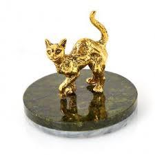 Купить статуэтки кошек из натурального камня недорого в ...