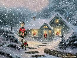 Christmas Scenes Wallpaper Desktop ...