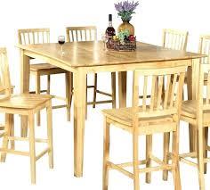 kitchen table sets light wood luxury silver counter round light oa light