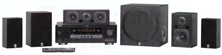 yamaha home theater speakers. yamaha yht-390 home theater surround sound system speakers