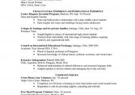 American Resume Format Best Sample Remarkable North American Resume