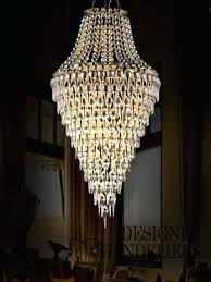 chandeliers 16 light chandelier glass droplet touareg 35 wide chrome crystal