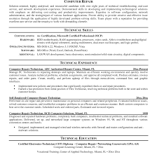 Best Computer Repair Technician Resume Example Livecareer With