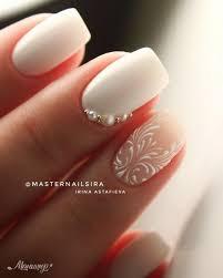 Nail Design 2018 Lak Na Nehty Design Nehtů Bílé Nehty Y Manikúra