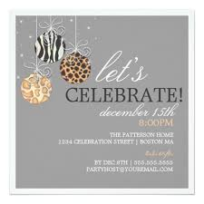 Be Jolly Christmas Ornament Holiday Party Invite Square Invitation Card