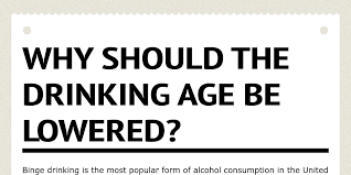 Nwilliams95 By Infogram - Drinking Age Be Should Lowered The Why