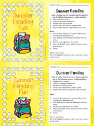 Summer Reading Incentive Chart Summer Reading Encourage Track Practice No Prep Printable Incentive Charts