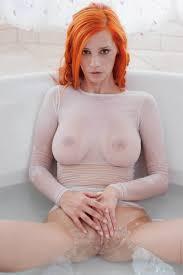 Redhead piper fawn aka ariel bathroom
