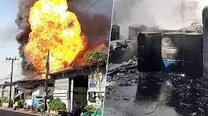 หนีตายวุ่น! ไฟไหม้ โรงงานทินเนอร์ เผยนาทีระทึก รถน้ำกว่า10คันเร่งดับ -  ข่าวสด