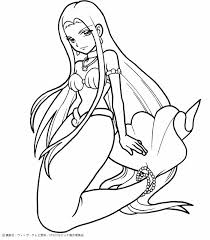 Small Picture Mermaid Coloring Pages To Color Online Coloring Pages