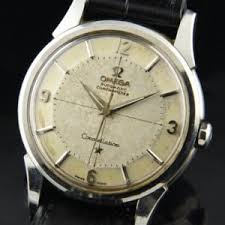 vintage omega watches for used antique watchestobuy com omega constellation pie pan 1961