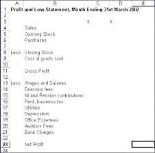 profit and loss account sample profit and loss excel download template profit loss account excel
