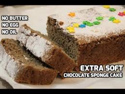 Soft Spongy Eggless Chocolate Cake Without Condensed Milk Basic