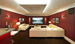small media room ideas. Inspiring Decoration Basement Media Room Pict For Wall Decor Trends And Style Small Ideas