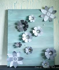3d Wall Art Diy 3d Wall Art Some Of This And That