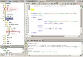 Integrating an Applet in a Web Application