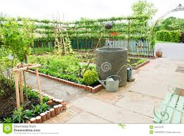 Kitchen Garden Kitchen Garden Stock Image Image 24903961
