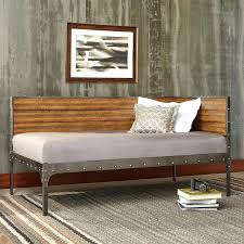 bed group metal corner daybed with reclaimed wood design and fashion bed group metal corner daybed