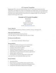 Teenage Resume Sample Resume Templates