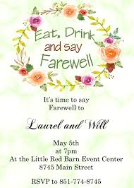 Goodbye Party Invitation Wording Zoli Koze