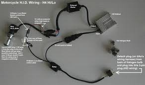 h4 hi lo globe motorcycle hid conversion kits hid motorcycle wiring diagram