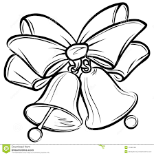 Bell Clipart Ribbon Pencil And In Color Bell Clipart Ribbon