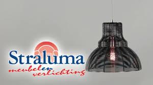 Industriele Hanglamp Draad Zwart 23220021 Straluma Meubelen En