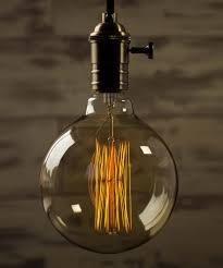 Large Filament Light Bulbs Globe Squirrel Cage Xtra Large