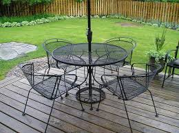 Furniture Modern Iron Patio Furniture Creative Within Modern Iron