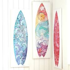surf canvas art black and white girls surfboard o