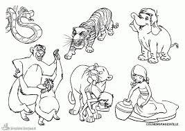 25 Printen Jungle Book Kleurplaat Mandala Kleurplaat Voor Kinderen