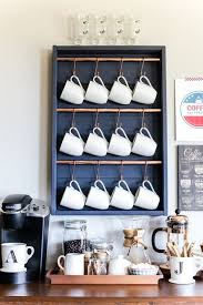 If you want to go for a single color for your coffee station, white it is. 15 Coffee Bar Ideas For Your Home Diy Ideas For Coffee Stations In Your Kitchen