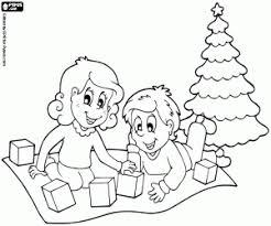 Kleurplaten Kinderen En Kerstmis Kleurplaat