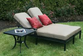 double chaise lounge outdoor image of garden furniture target