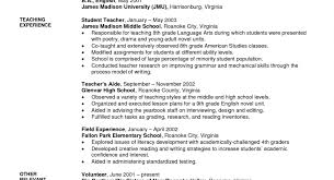 Best Assistant Teacher Resume Example Livecareer For Image