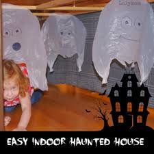 diy haunted house ideas | Non-scary Haunted House for kids for Halloween  Obstacle Course